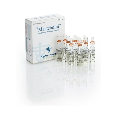 MASTEBOLIN DROSTANOLONE PROPIONATE 100mg/ml. 10 amp. ALPHA PHARMA
