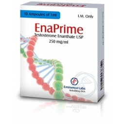 ENAPRIME TESTOSTERONE ENANTHATE 250mg/ml. 10 amp. EMINENCE LABS