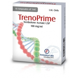 TRENOPRIME TRENBOLONE ACETATE 100mg/ml. 10 amp. EMINENCE LABS