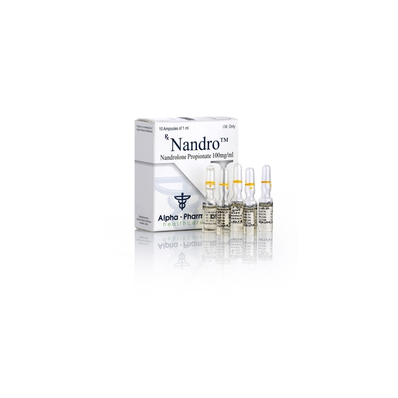 NANDRO NANDROLONE PROPIONATE 100mg/ml. 10 amp. ALPHA PHARMA