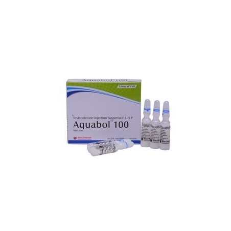 AQUABOL 100 TESTOSTERONE SUSPENSION 100mg/ml. 5 amp. SHREE VENKATESH