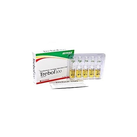 TREBOL 100 TRENBOLONE ACETATE 100mg/ml. 5 amp. SHREE VENKATESH