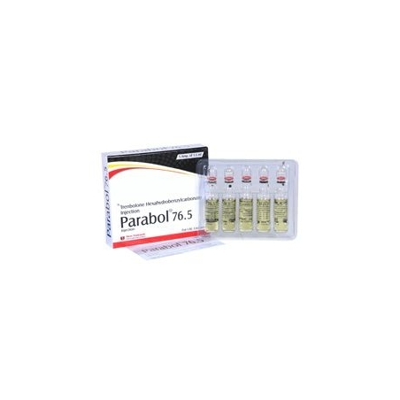 PARABOL 76.5 TRENBOLONE HEXAHYDROBENZYLCARBONATE 76.5mg/ml. 5 amp. SHREE VENKATESH