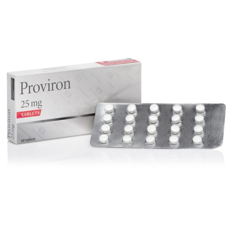 PROVIRON MESTEROLONE 25mg/tab. 60 tab. SWISS REMEDIES
