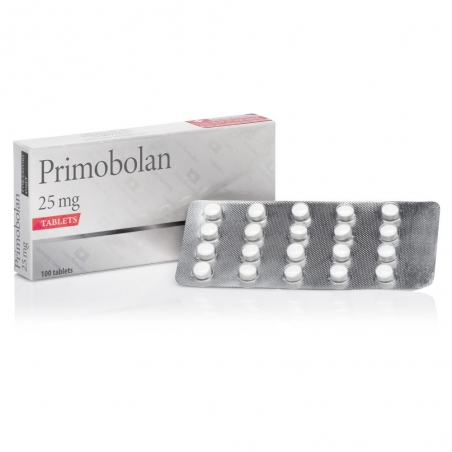PRIMOBOLAN METHENOLONE ACETATE 25mg/tab. 100 tab. SWISS REMEDIES