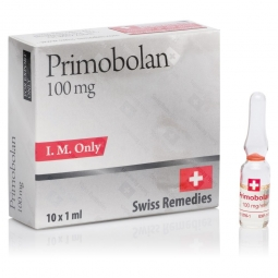 PRIMOBOLAN METHENOLONE ENANTHATE 100mg/ml. 10 amp. SWISS REMEDIES