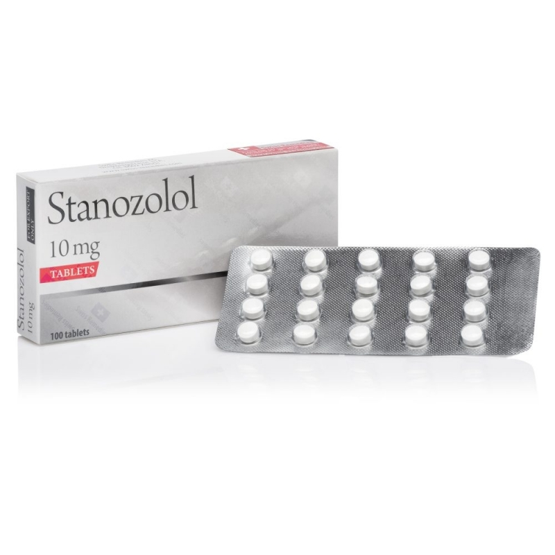 STANOZOLOL 10mg/tab. 100 tab. SWISS REMEDIES