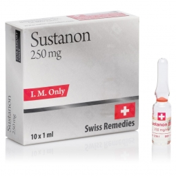 SUSTANON TESTOSTERONE MIX 250mg/ml. 10 amp. SWISS REMEDIES