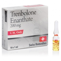 TRENBOLONE ENANTHATE 200mg/ml. 10 amp. SWISS REMEDIES