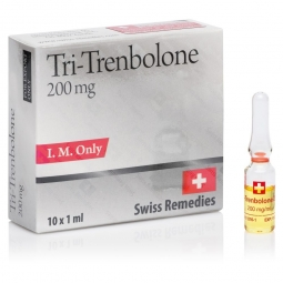 TRI-TRENBOLONE TRENBOLONE MIX 200mg/ml. 10 amp. SWISS REMEDIES