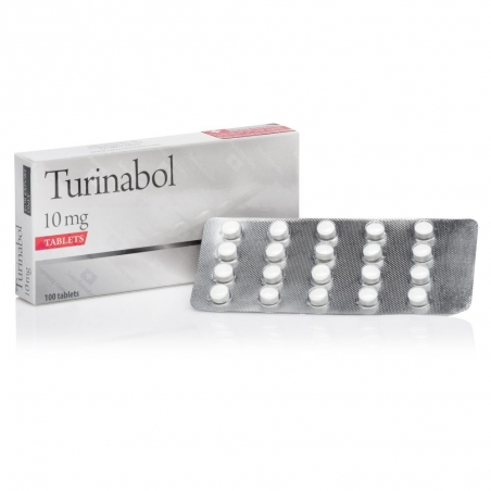 TURINABOL 4-CHLORODEHYDROMETHYLTESTOSTERONE 10mg/tab. 100 tab. SWISS REMEDIES