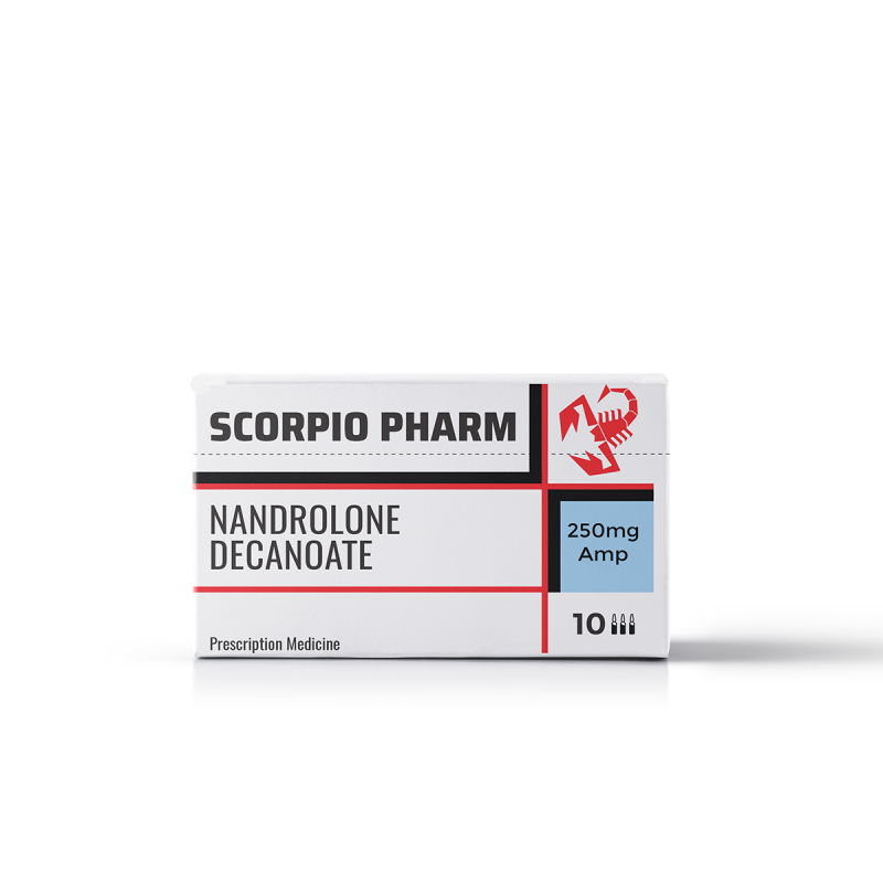 NANDROLONE DECANOATE 250mg/ml. 10 amp. SCORPIO PHARM