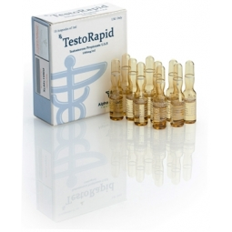TESTORAPID TESTOSTERONE PROPIONATE 100mg/ml. 10 amp. ALPHA PHARMA