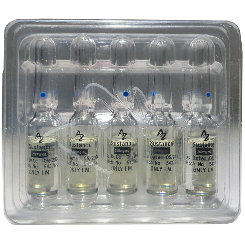 SUSTANON TESTOSTERONE MIX  AMPOULES 250mg/ml. 10 amp. ALPHA ZENECA