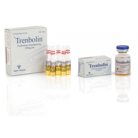 TRENBOLIN TRENBOLONE ENANTHATE 250mg/ml. 10 amp. ALPHA PHARMA