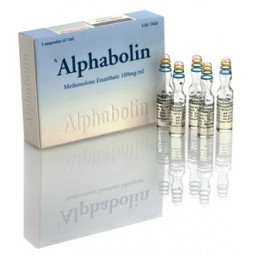 ALPHABOLIN METHENOLONE ENANTHATE 100mg/ml 5 amp. ALPHA PHARMA