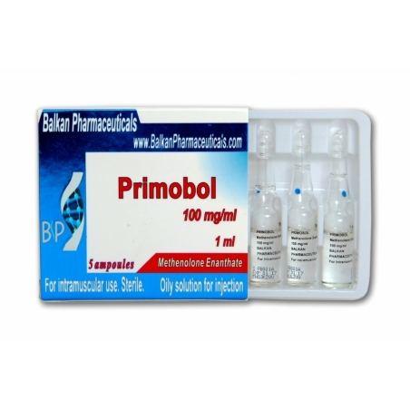 PRIMOBOL METHENOLONE ENANTHATE 100mg/ml. 5 amp. BALKAN PHARMACEUTICALS