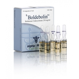BOLDEBOLIN BOLDENONE UNDECYCLENATE 250mg/ml. 10 amp. ALPHA PHARMA